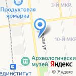 Центр лицензионно-разрешительных работ на карте Южно-Сахалинска