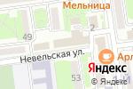 Схема проезда до компании Патриоты России в Южно-Сахалинске