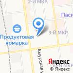Runeta.net на карте Южно-Сахалинска
