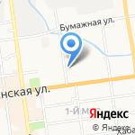 ДВК на карте Южно-Сахалинска