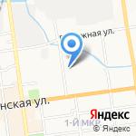 Интернэшнл SOS на карте Южно-Сахалинска