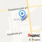 Компания по аренде кран-балки и эвакуатора на карте Южно-Сахалинска
