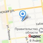 КосМед на карте Южно-Сахалинска