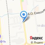 Мастерская по ремонту обуви и заточке инструментов на карте Южно-Сахалинска