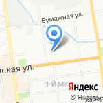 Феникс на карте Южно-Сахалинска