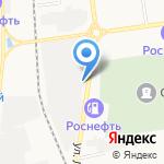 Доступный Экстрим на карте Южно-Сахалинска