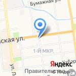 Совкомбанк на карте Южно-Сахалинска
