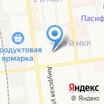 ДЕЛЮКС АВТО на карте Южно-Сахалинска