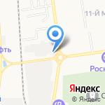 Станция замены масла на карте Южно-Сахалинска
