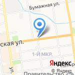 Виза на карте Южно-Сахалинска
