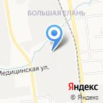Экспресс на карте Южно-Сахалинска