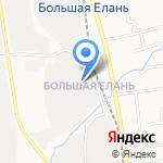 Автобаза на карте Южно-Сахалинска