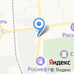 Ваши Ворота на карте Южно-Сахалинска