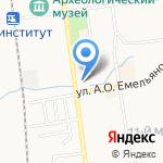 SAKH.COM на карте Южно-Сахалинска