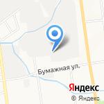 Инэкспро на карте Южно-Сахалинска