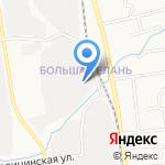 Шанкси на карте Южно-Сахалинска