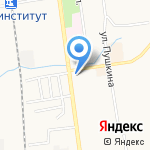 ПрезиДент на карте Южно-Сахалинска