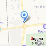 Дизель-Трейд на карте Южно-Сахалинска