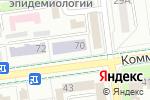 Схема проезда до компании Росгеолфонд в Южно-Сахалинске