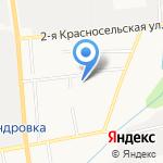 Городская поликлиника №6 на карте Южно-Сахалинска