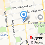 Региональная общественная приемная председателя партии Единая Россия Д.А. Медведева на карте Южно-Сахалинска