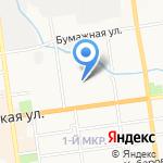 Минутка на карте Южно-Сахалинска