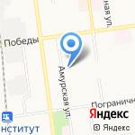 Daikon на карте Южно-Сахалинска