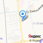 Влад на карте Южно-Сахалинска