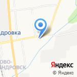 Тимирязевское на карте Южно-Сахалинска