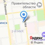 Доктор Гис на карте Южно-Сахалинска