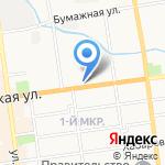 Иринка на карте Южно-Сахалинска