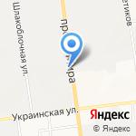 Маслофф на карте Южно-Сахалинска