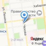 Восточный экспресс банк на карте Южно-Сахалинска