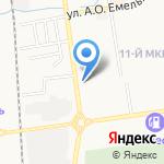 Дальэко на карте Южно-Сахалинска