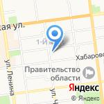VERUM на карте Южно-Сахалинска