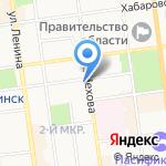 Департамент правового обеспечения г. Южно-Сахалинска на карте Южно-Сахалинска