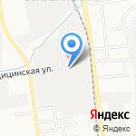 Сфера на карте Южно-Сахалинска