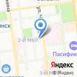 Ретро FM на карте Южно-Сахалинска