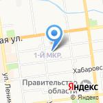 Центральная детская музыкальная школа г. Южно-Сахалинска на карте Южно-Сахалинска