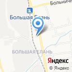 Сахалинский учебный центр Дальневосточной железной дороги на карте Южно-Сахалинска