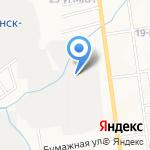 Джей Ди на карте Южно-Сахалинска