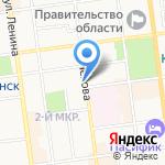 Маникюрный кабинет на карте Южно-Сахалинска