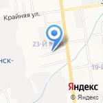 Компания грузоперевозок на карте Южно-Сахалинска