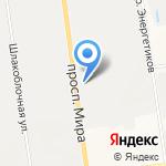 МЕТИЗ на карте Южно-Сахалинска