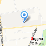 Армада на карте Южно-Сахалинска