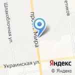 Канат+ на карте Южно-Сахалинска