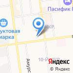 Детская школа искусств №2 на карте Южно-Сахалинска