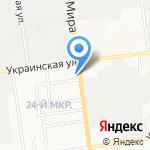 Электрик на карте Южно-Сахалинска