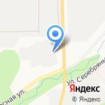 Южно-Сахалинская лесопожарная станция на карте Южно-Сахалинска
