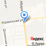 Большой Привет на карте Южно-Сахалинска